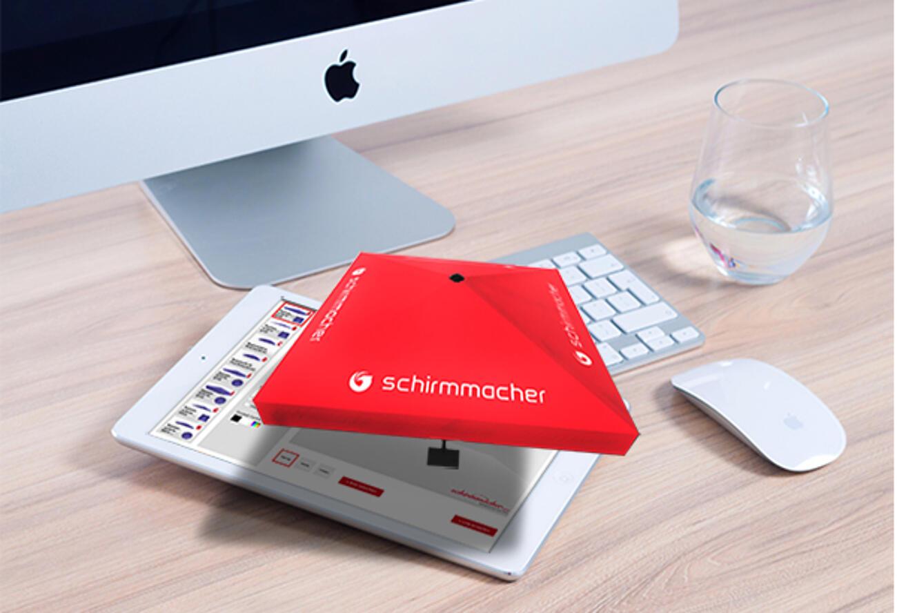 Exklusiv! 3D Schirm Designer