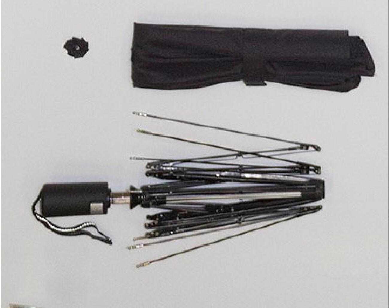 Trimagic - Einzelteile eines Schirms