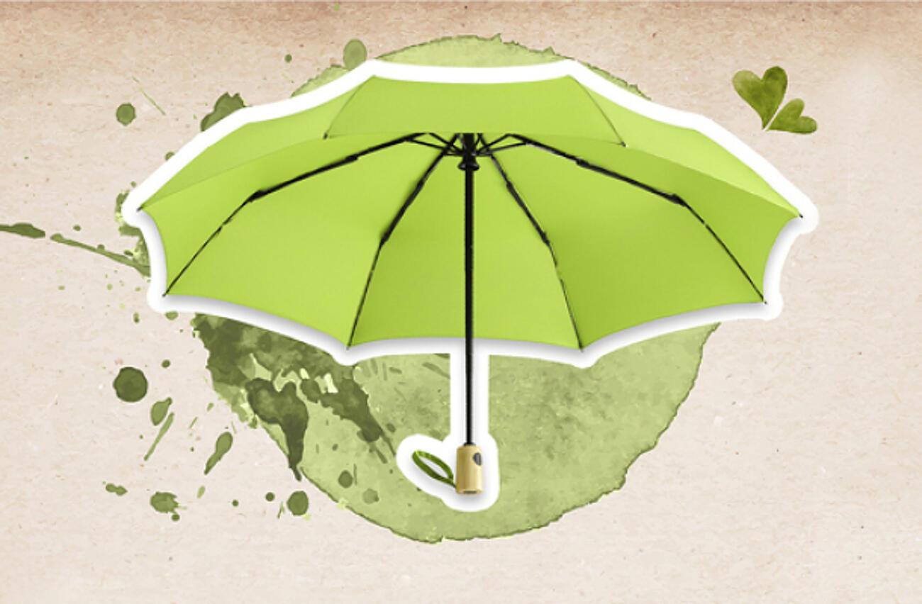 Öko Regenschirme