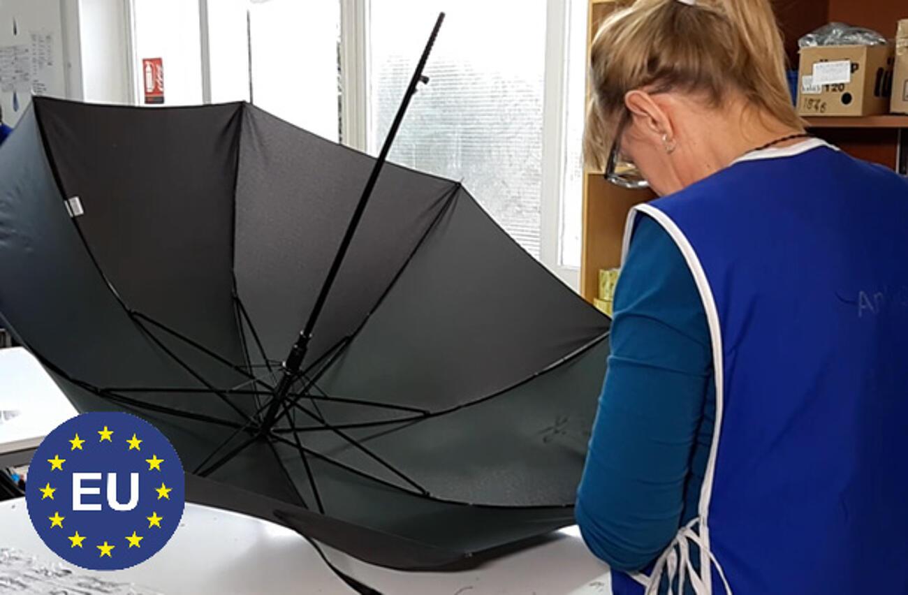 Taschen- und Stockschirme Made in EU