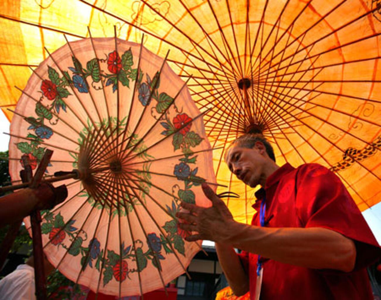 Schirmmacher in China