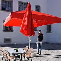 Tischfreiheit Sonnenschirm
