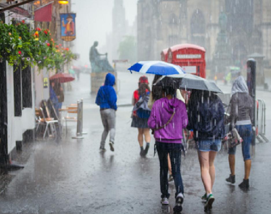Regenschirme für Kunden