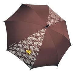 aufgespannter Schirm