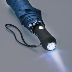Regenschirm mit LED Leuchtgriff