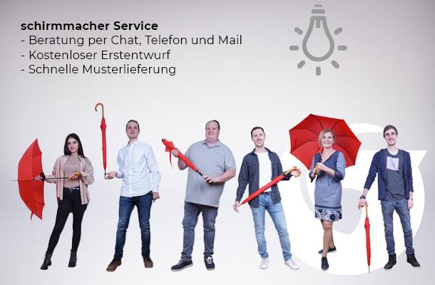 Schirmmacher Team & Service