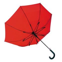Windproof Regenschirm in rot
