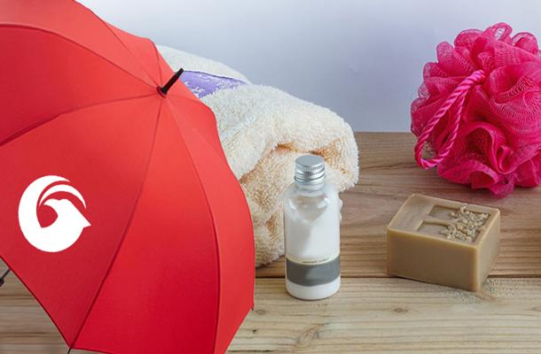 Pflege und Reinigung von Regenschirmen