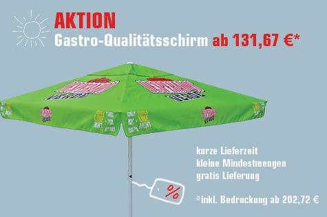 Aktion Gastroschirm