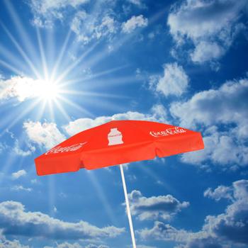 Sonnenschirm / Marktschirm bedruckt