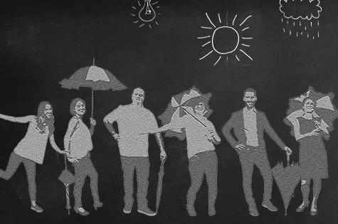 6 gute Gründe für Schirmmacher
