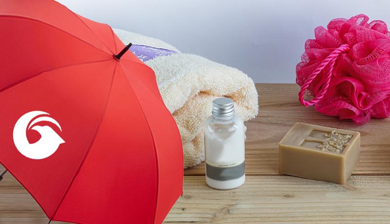 Pflege Regenschirme