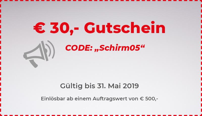 30 Euro Gutschein Mai 2020