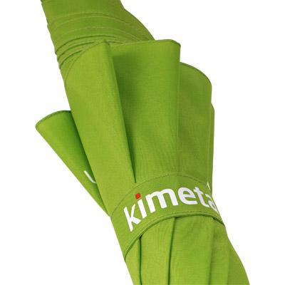 Regenschirm mit Druck auf Schließband