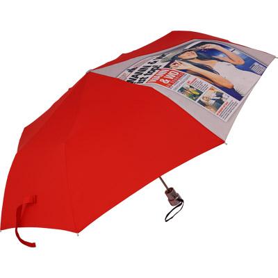 Regenschirm vollflächig bedruckt