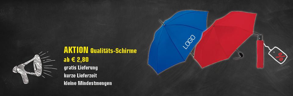 Regenschirme bedrucken mit Logo