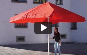 Sonnenschirm Gestelle Öffnungssysteme