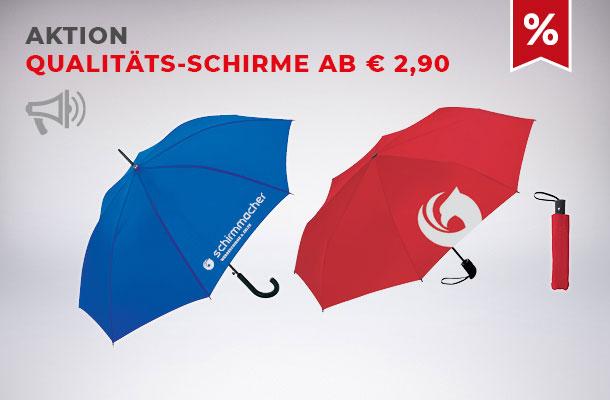 Aktion Qualitäts-Regenschirme