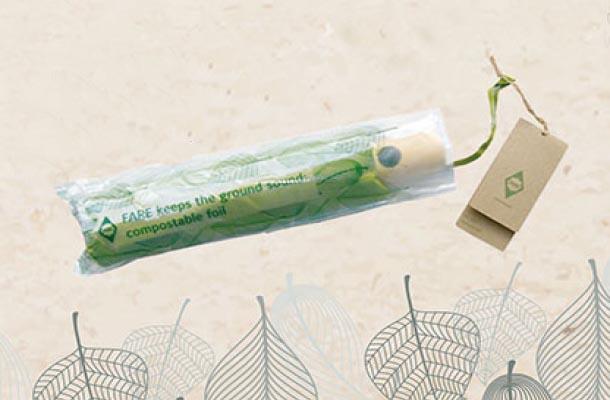 Regenschirme mit nachhaltiger Verpackung