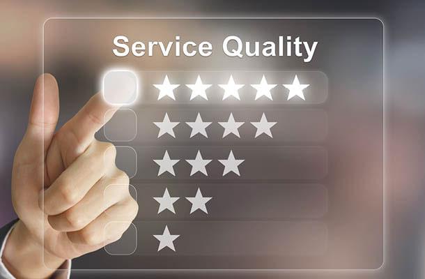 Qualitätsschirme mit Garantie