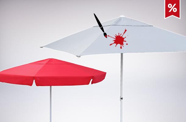 Aktion Werbe-Sonnenschirme
