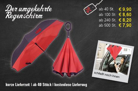 Innovation - Der umgekehrte Schirm