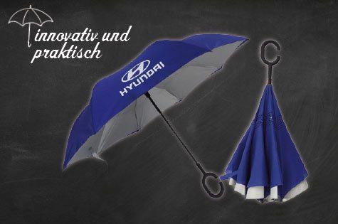Der verkehrte Regenschirm